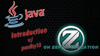 ? Java Tutorial- Introduction Java Language Ft. Pundhy13! -ZTV?