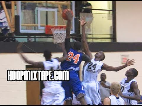 Kenny Gaines Climbs Defender For The Sick Dunk!!! Hoopmixtaped! Top Ten From Hoop Mountain