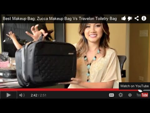 Best Makeup Bag: Zuca Makeup Bag Vs Travelon Toiletry Bag - UCHNXXEsE6KSb-0y2A-8k2Gw