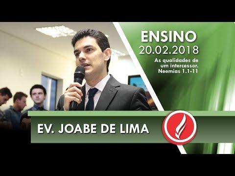 Culto de Ensino - Ev. Joabe de Lima - 20 02 2018
