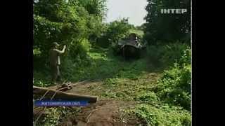 На Житомирщине обнаружили танк Т-34