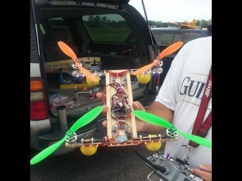 RC Homemade Quadcopter - default