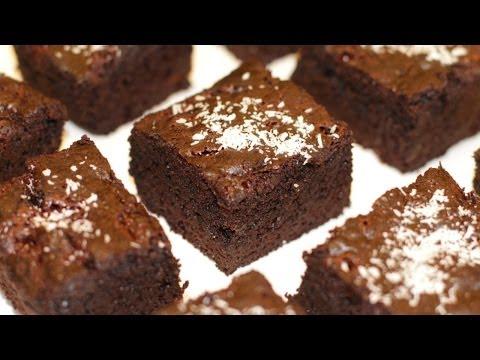 The world's HEALTHIEST chocolate brownies