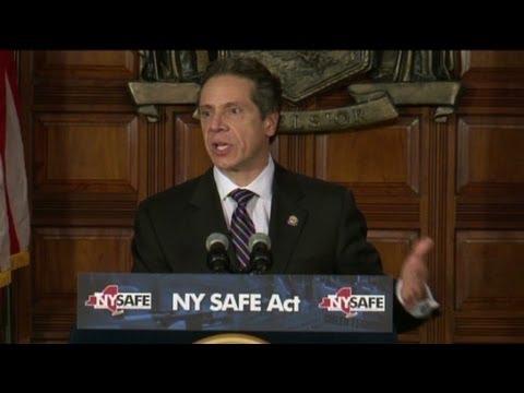 Cuomo: Gun control law is 'common sense'