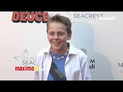 "Jacob Bertrand ""Nicky Deuce"" Los Angeles Premiere ARRIVALS - maximotv"