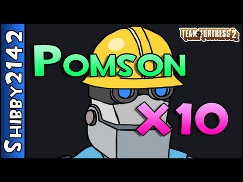 "TF2: Pomson x10 (""TF20"" Mod - Team Fortress 2)"