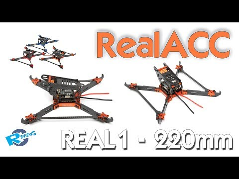 "RealACC Real1 220mm 5"" vertical arms frame similar to Karearea Talon - UCv2D074JIyQEXdjK17SmREQ"