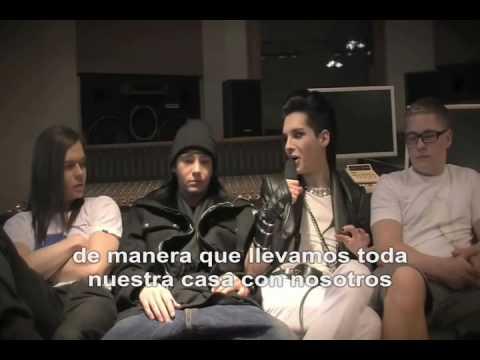 Tokio Hotel Humanoid City Tour Entrevista Parte II (Español)