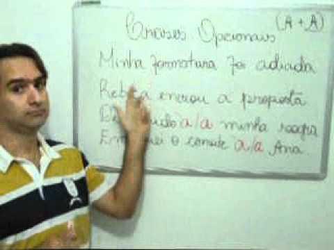 Crases opcionais - Aprenda em 3 minutos