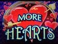 MORE HEARTS : MAX BET - BIG WIN - ARISTOCRAT SLOT MACHINE
