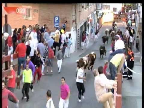 Cuarto encierro de 2012 en San Sebastián de los Reyes