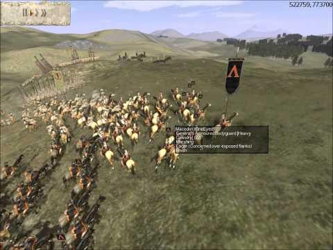Rome Total War Online Battle #1933: Philip II ambushed in Thessaly (Historical Battle)