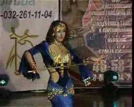 Belly dance saidi 2006 Alla Kushnir (Leila)