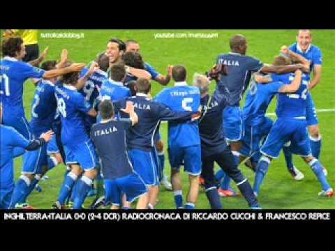INGHILTERRA-ITALIA 2-4 dcr - Radiocronaca di Riccardo Cucchi & Francesco Repice - EURO 2012 Radiouno