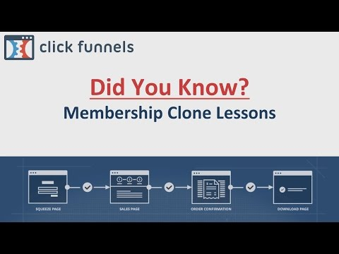 Did You Know - Membership Clone Lessons