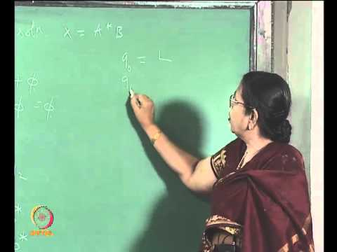 Mod-02 Lec-14 DFSA TO REGULAR EXPRESSIONS