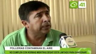 Pollerias contaminan el aire - Trujillo