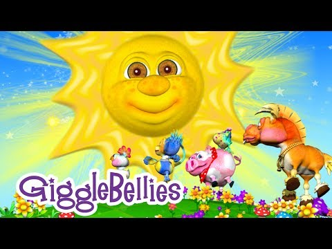"""Mr. Sun, Sun, Mister Golden Sun"" with The GiggleBellies -  Music Video Preview"