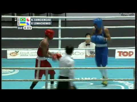 Vasyl Lomachenko vs Robson Conceicao - World Boxing Championships Baku 2011, 1/8 Final, 60 kg