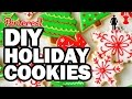 DIY Holiday Cookies, CORINNE VS COOKING #2 (FEAT. SANTA)
