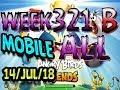 Angry Birds Friends Tournament All Levels Week 321-B MOBILE Highscore POWER-UP walkthrough