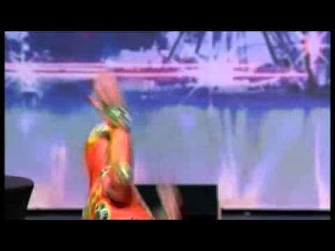 Sacha  L'Homme Grenouille dans Incroyable Talent 2010 -VAvusfewvWc