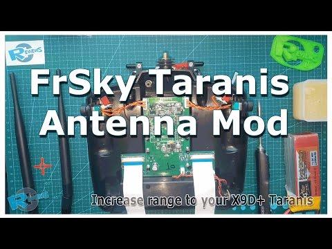 FrSky Taranis X9D antenna mod RG178 wire upgrade - UCv2D074JIyQEXdjK17SmREQ