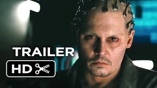 Transcendence Official Trailer