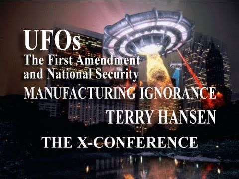 Manufacturing Ignorance: UFOs, the First Amendment and National Security LIVE