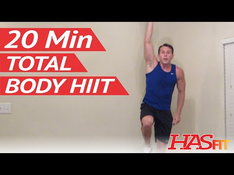 20 Minute Ultimate Fitness Workout - Full Body Workout - Fitness Exercises Total Body - HASfit