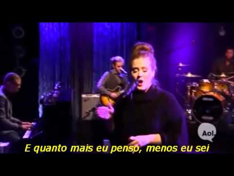 Adele - Don't You Remember (Legendado) (Live AOL Sessions)
