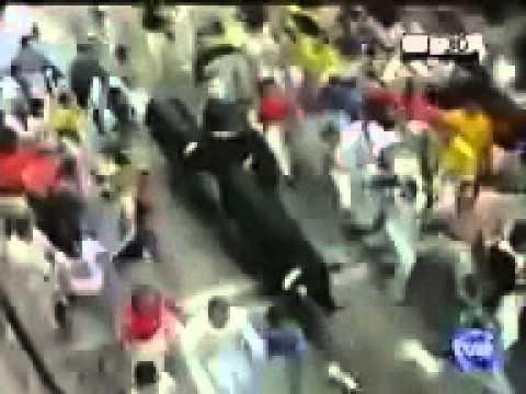 Encierro San Fermín   10 de Julio de 2004 360p