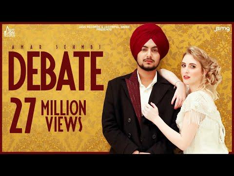 Debate (Official Video) Amar Sehmbi | Gur Sidhu | Latest Punjabi Songs 2020 | Jass Records