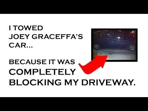 I TOWED JOEY GRACEFFA'S CAR