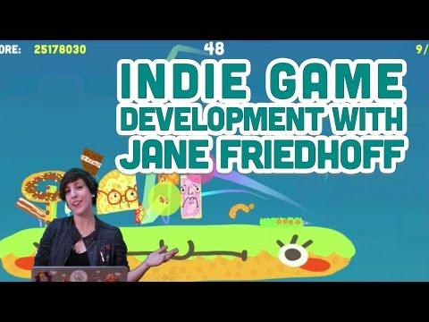 Indie Game Development with Jane Friedhoff - UCvjgXvBlbQiydffZU7m1_aw
