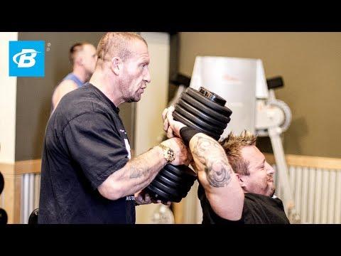 Dorian Yates- Blood & Guts Trainer: Delts & Triceps - Bodybuilding.com
