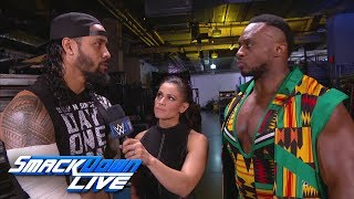 Big E & Jimmy Uso are ready for The Bludgeon Brothers: SmackDown LIVE, March 13, 2018