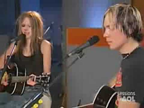 Avril Lavigne-My happy ending (Acoustic Version)   Lyrics