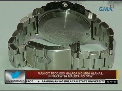 24 Oras: Suspek sa pagbebenta ng mga ninakaw na alahas mula sa maleta ng OFW,  arestado