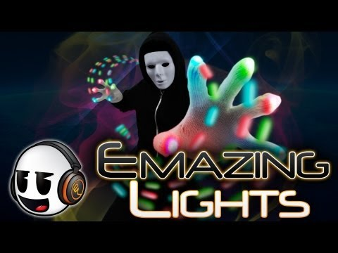 EmazingLights Inc. Commercial Rave Gloves - Orbits - Apparel - Lightshows [EmazingLights.com] (HD)