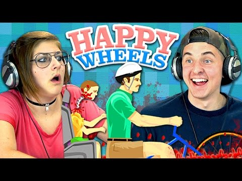 HAPPY WHEELS (Teens React: Gaming)