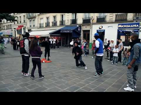 STREET BATTLE | YAK FILMS | Les Twins VS. Bones+Pee Fly VS. Laura+Boubou | FLEXING NEW STYLE DANCE