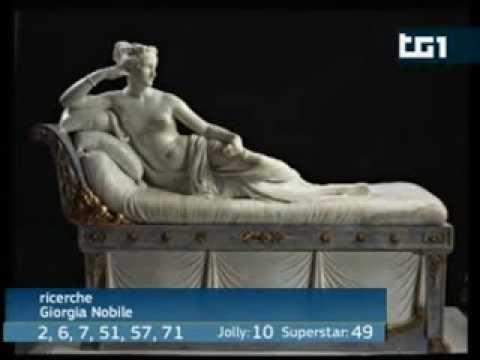 "Paolina Borghese eletta ""Miss Arte Italiana""!"