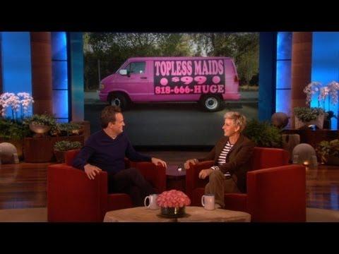 Calls Topless Maid Service at The Ellen Show