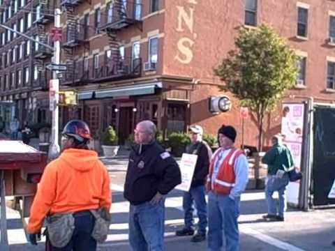 Carpenter Union Confronting NON-UNION