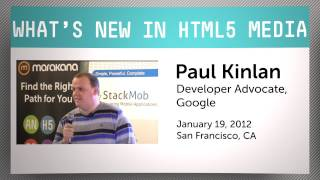 What's New in HTML5 Media