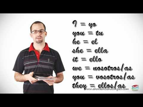 Curso Ingles Online / Leccion 3 / Pronombres Personales