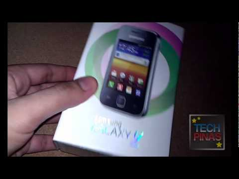 Samsung Galaxy Y Smart Netphone Edition Unboxing