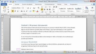 Curso de Microsoft Word 2010. p15 crear esquema
