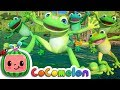 Five Little Speckled Frogs | Cocomelon (ABCkidTV) Nursery Rhymes